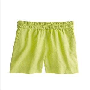 J Crew Pull On Matelasse Shorts